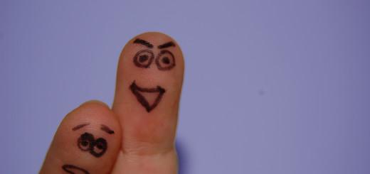 Guter Finger, böser Finger (Foto: frisch-gebloggt.de)