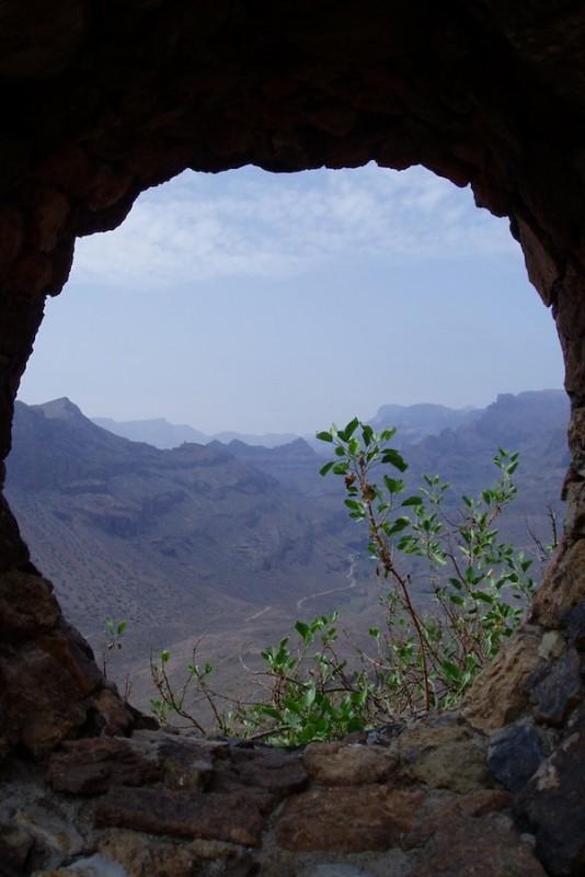 Ausblick Bergwelt Gran Canaria