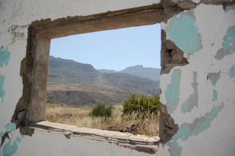 Ein Blick aus dem Fenster
