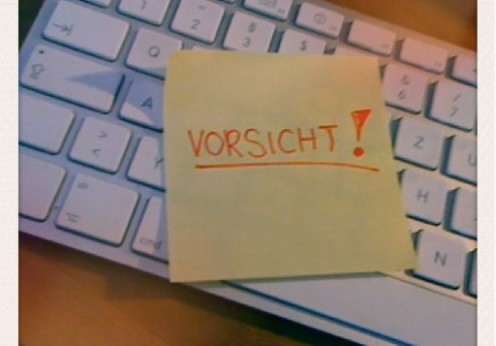 Vorsicht Internet (Foto: Frisch-gebloggt.de)