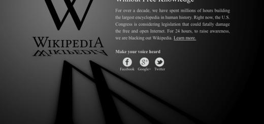 Wikipedia heute offline