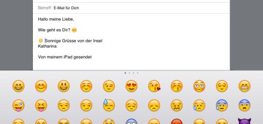 Emoticons iPad
