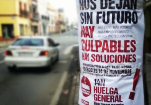 Generalstreik Spanien (Foto:  comcinco/Flickr)