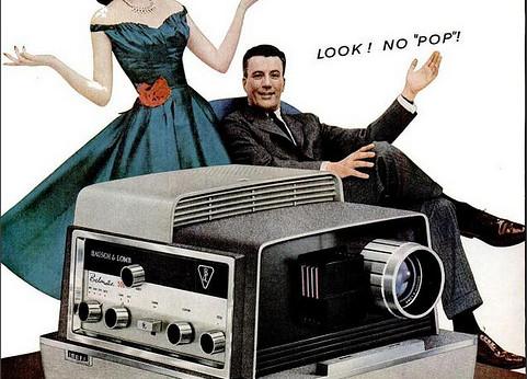 Diaprojektor (1950sUnlimited/Flickr)