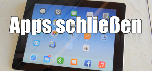 Apps schliessen