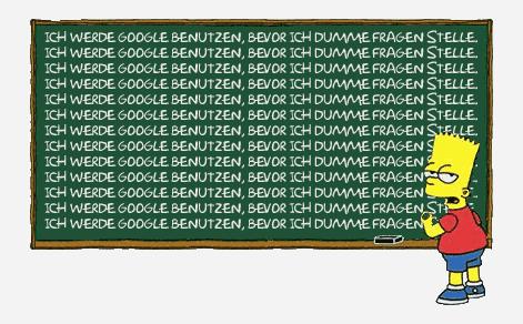 soll ich das für dich googlen